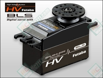 Futaba bls256hv high voltage ultra high speed brushless for High speed servo motor