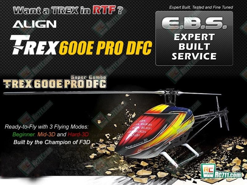 T-rex 600e Pro Align T-rex 600e Pro Dfc Fbl