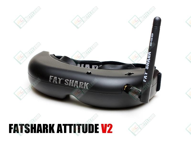 FatShark ATTITUDE V2 Headset with Trinity Head Tracking ...